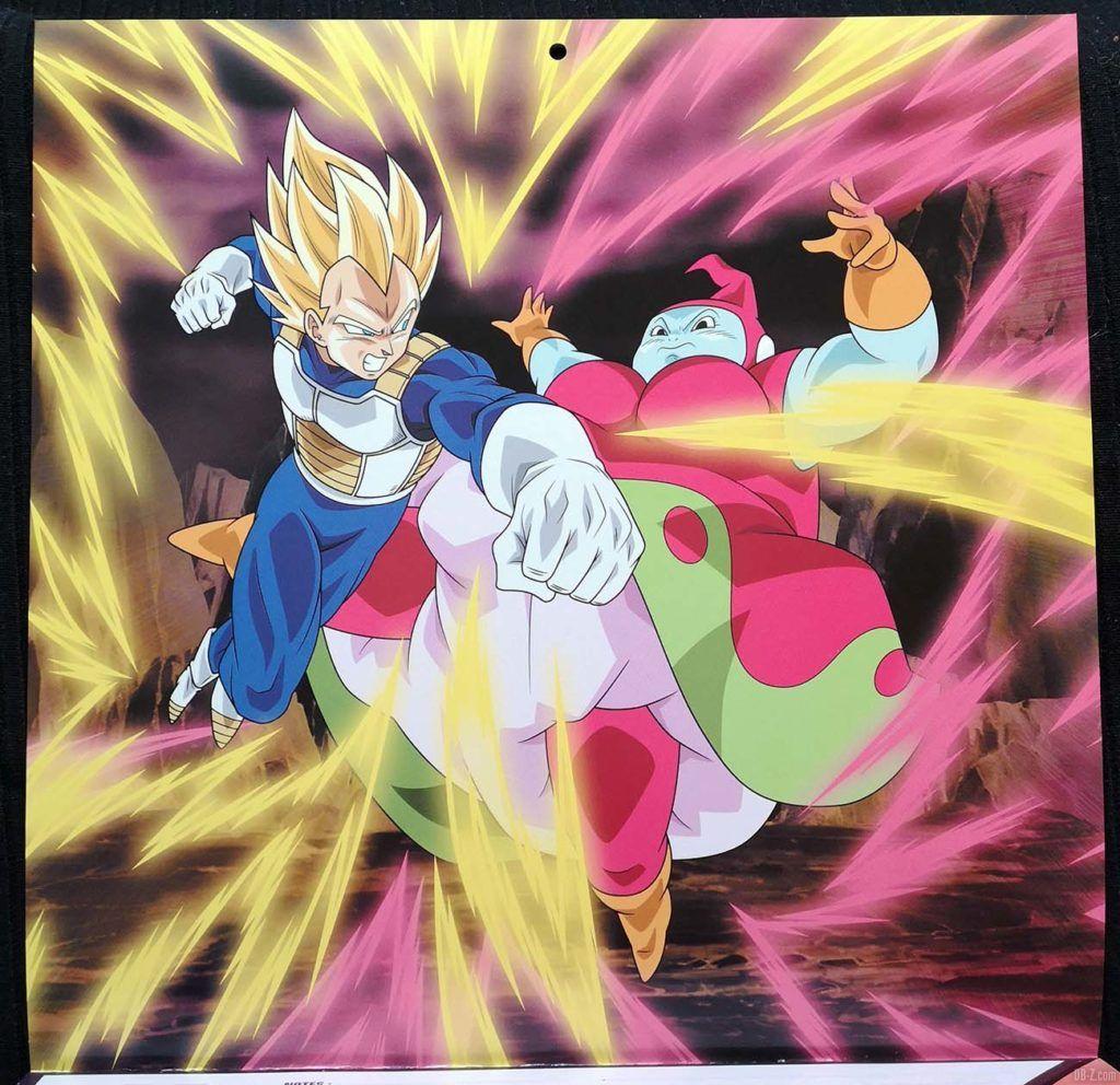 Calendrier Dragon Ball Super Janvier Février 2020