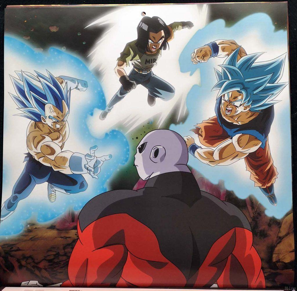 Calendrier Dragon Ball Super Novmebre Décembre 2020