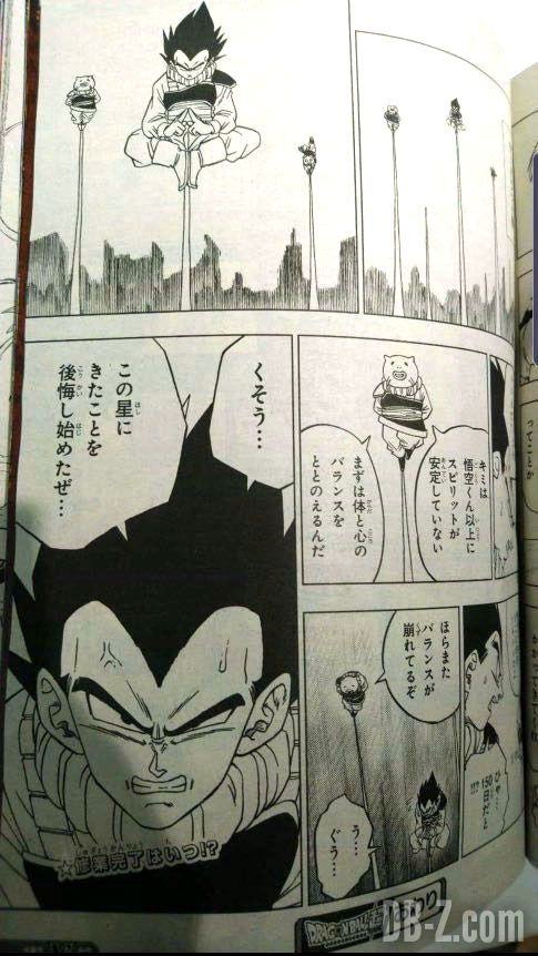 Dragon Ball Super Chapitre 53 Vegeta Yardrat