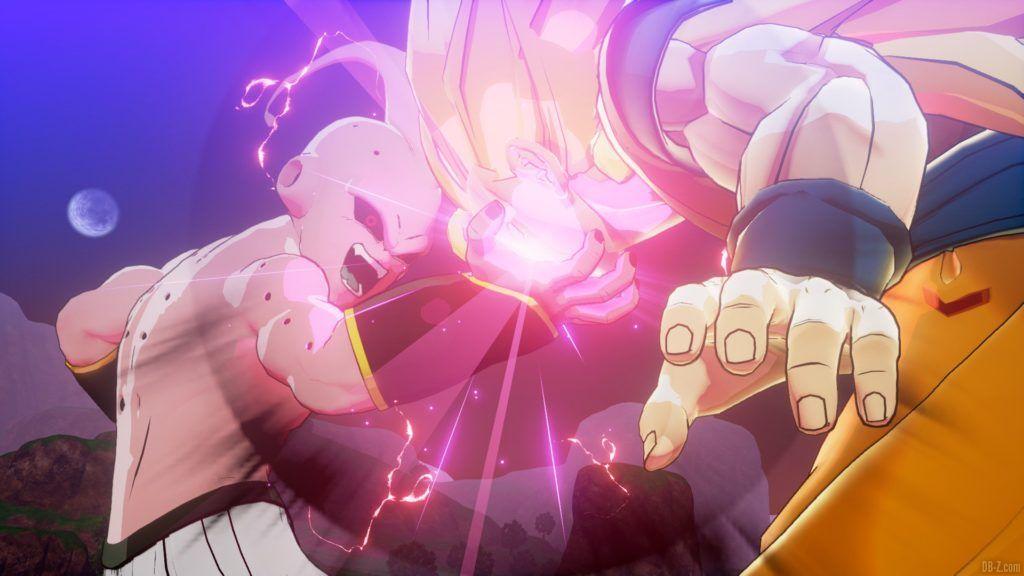 Dragon Ball Z Kakarot Buu vs Goku SS3