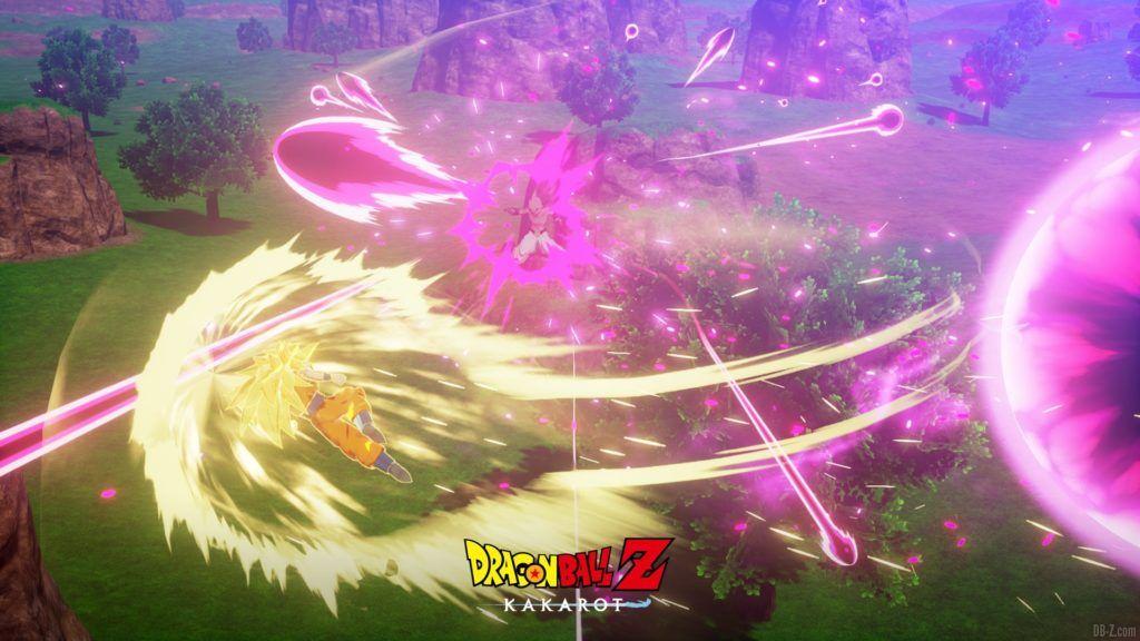 Dragon Ball Z Kakarot Goku SS3 vs Buu