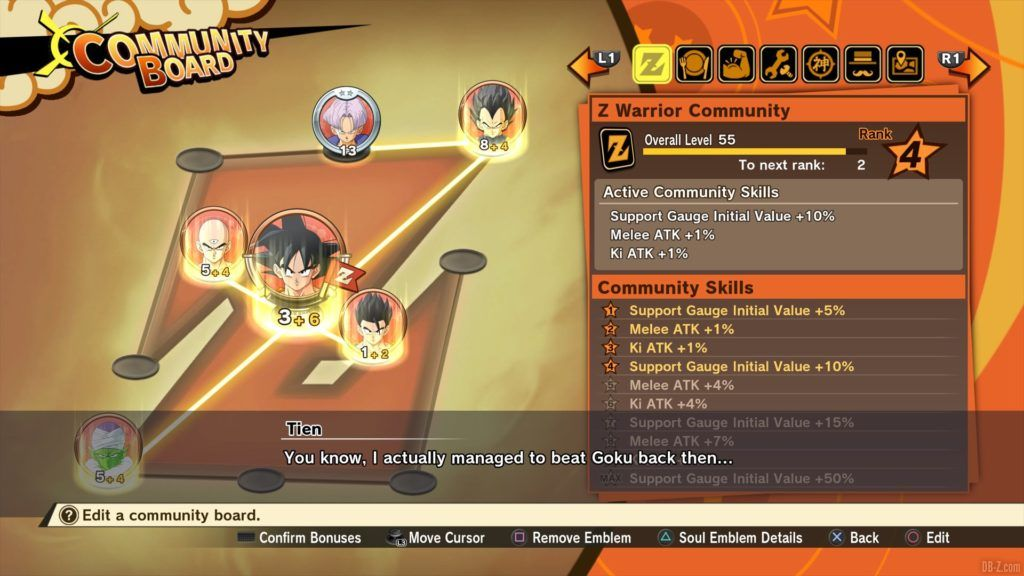 Dragon Ball Z Kakarot Soul Emblems