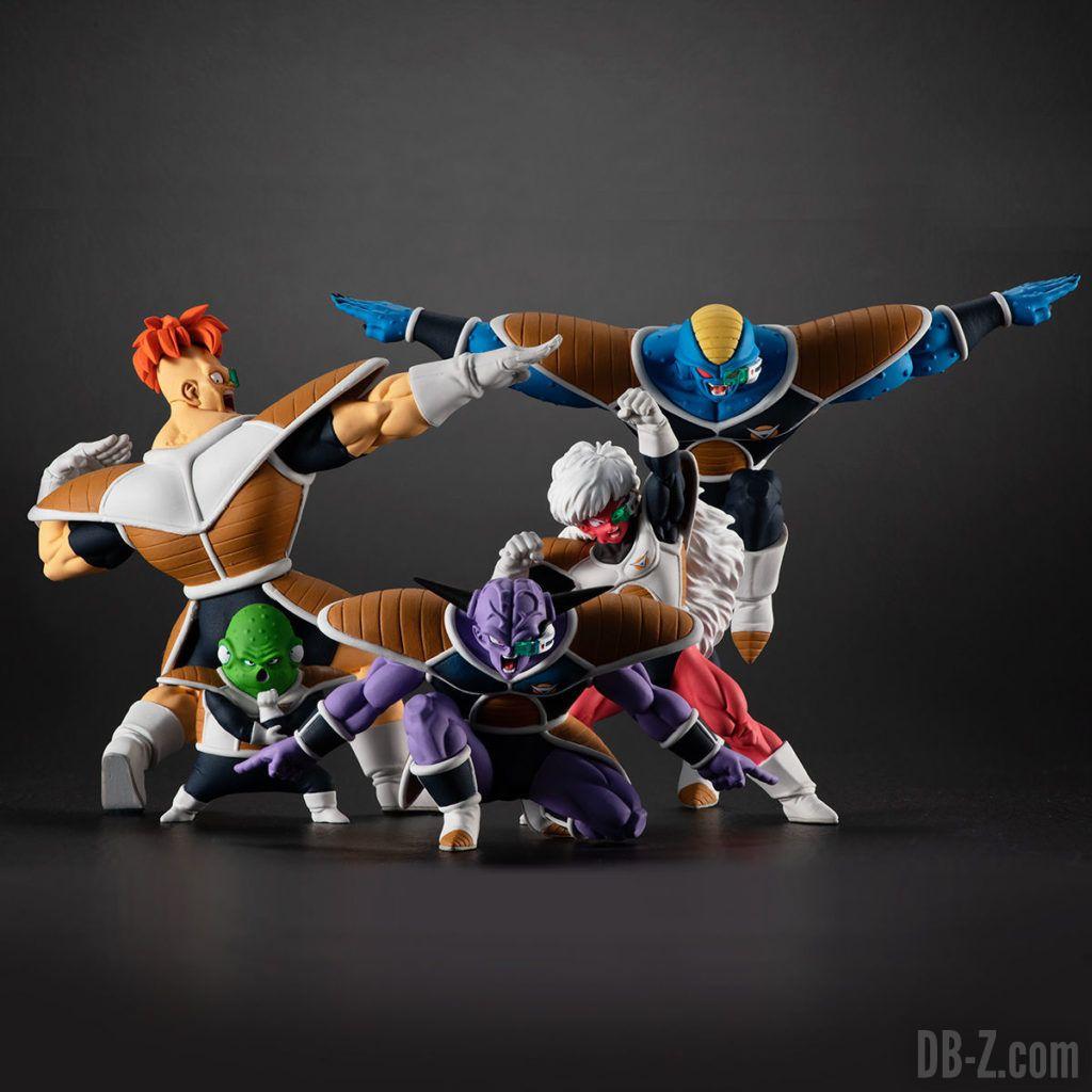 Figurine HG Dragon Ball Commando Ginyu