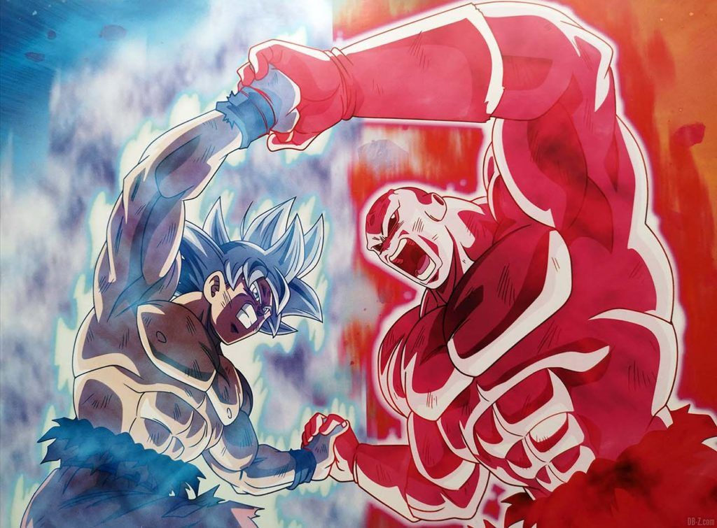 Jiren Full Power vs Goku Ultra Instinct