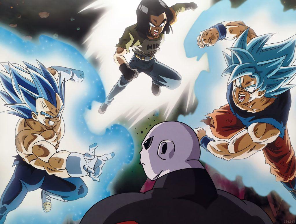 Jiren vs Goku Vegeta C 17