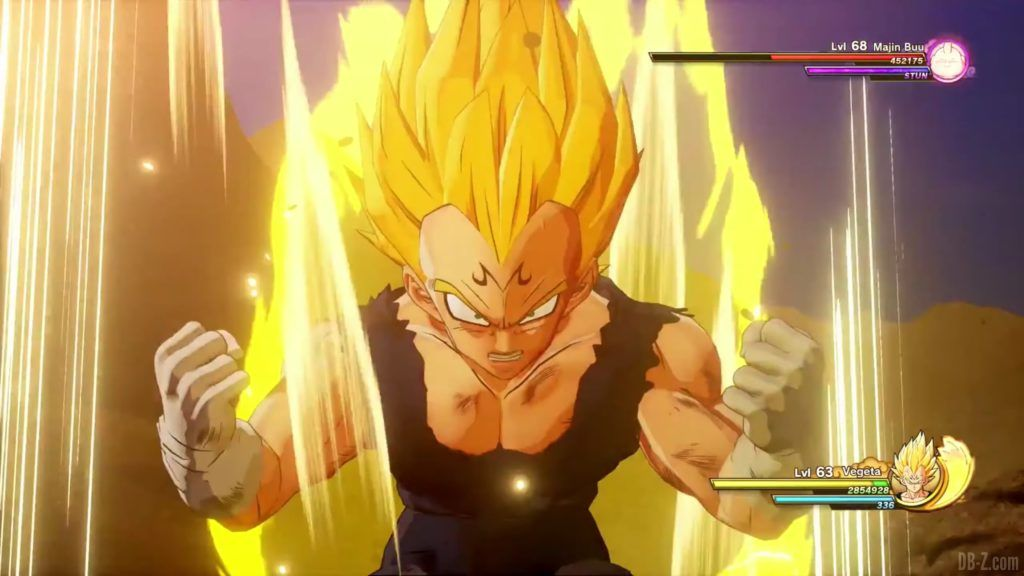 Majin Vegeta Dragon Ball Z Kakarot 12
