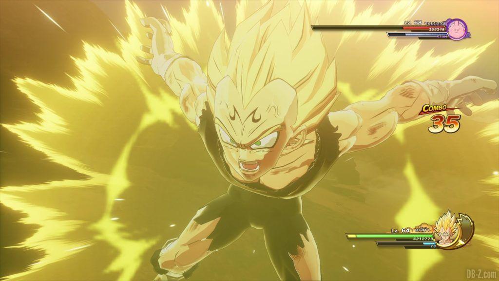 Majin Vegeta Dragon Ball Z Kakarot Final Flash 1