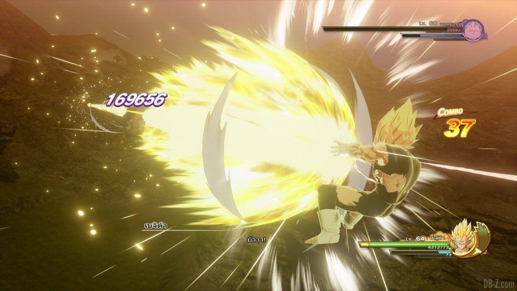 Majin Vegeta Dragon Ball Z Kakarot Final Flash 2