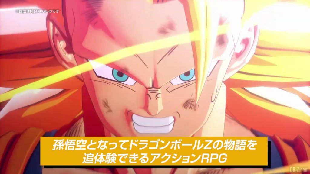 Dragon Ball Z Kakarot Trailer Presentation Systeme de Jeu 001