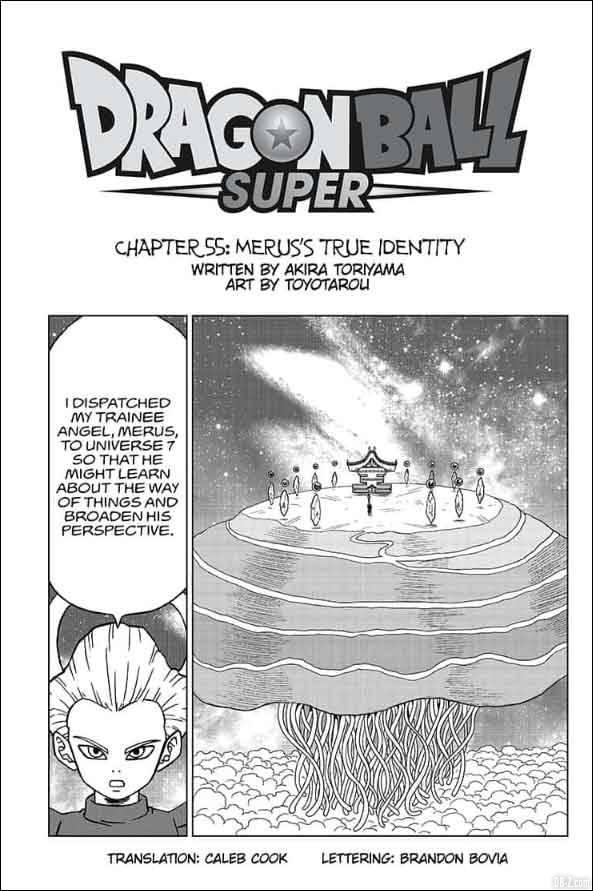 Chapitre 55 de Dragon Ball Super