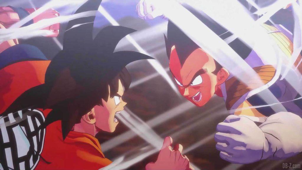 DBZ Kakarot Goku vs vegeta 02