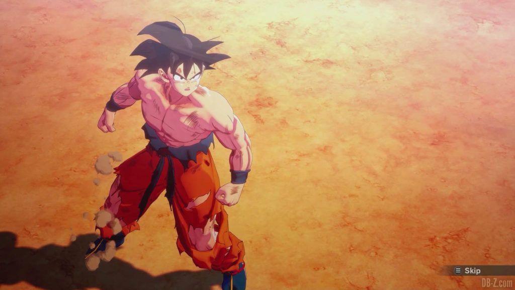 DBZ Kakarot Goku vs vegeta 06