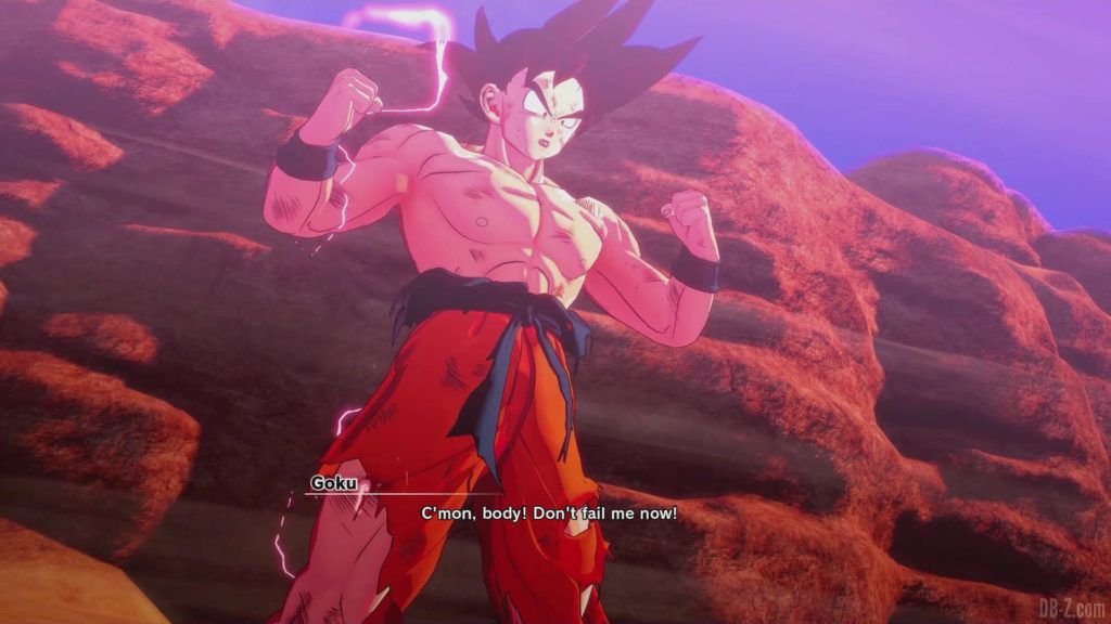 DBZ Kakarot Goku vs vegeta 10