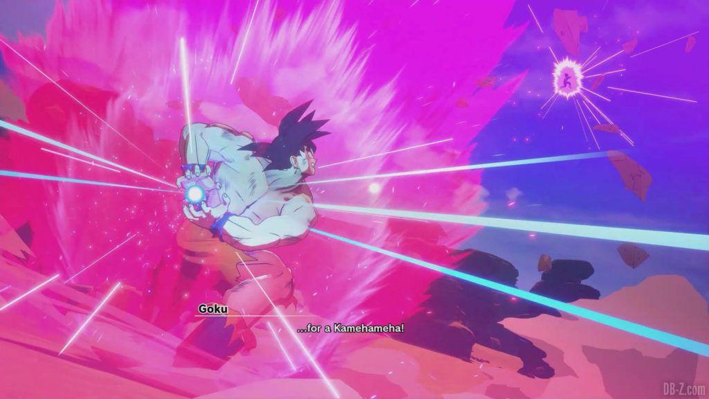 DBZ Kakarot Goku vs vegeta 12