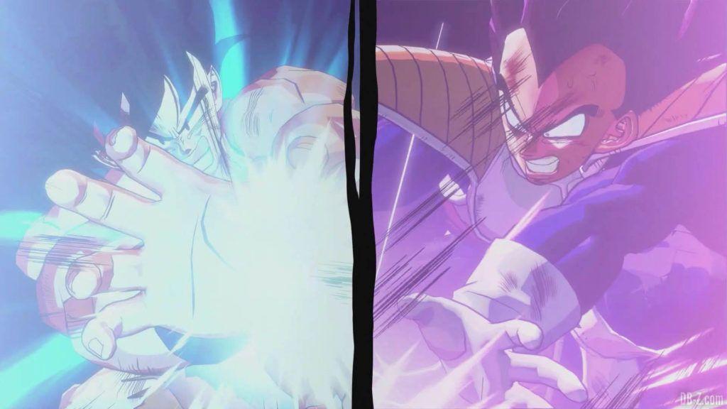 DBZ Kakarot Goku vs vegeta 15