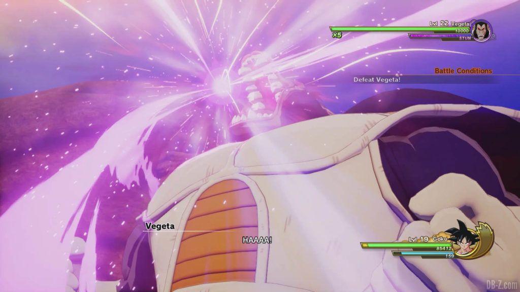 DBZ Kakarot Goku vs vegeta 20