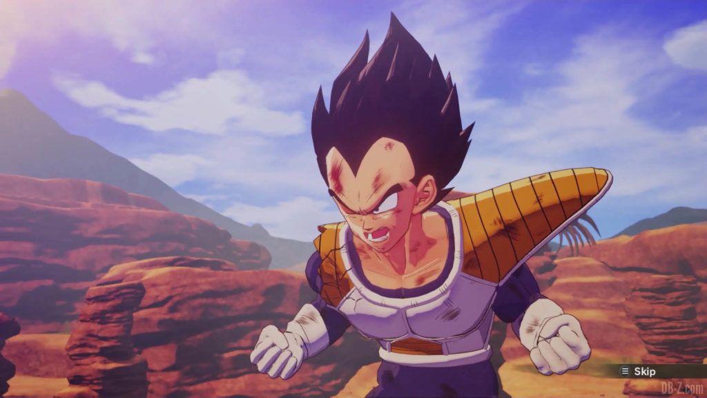 DBZ Kakarot Goku vs vegeta 27