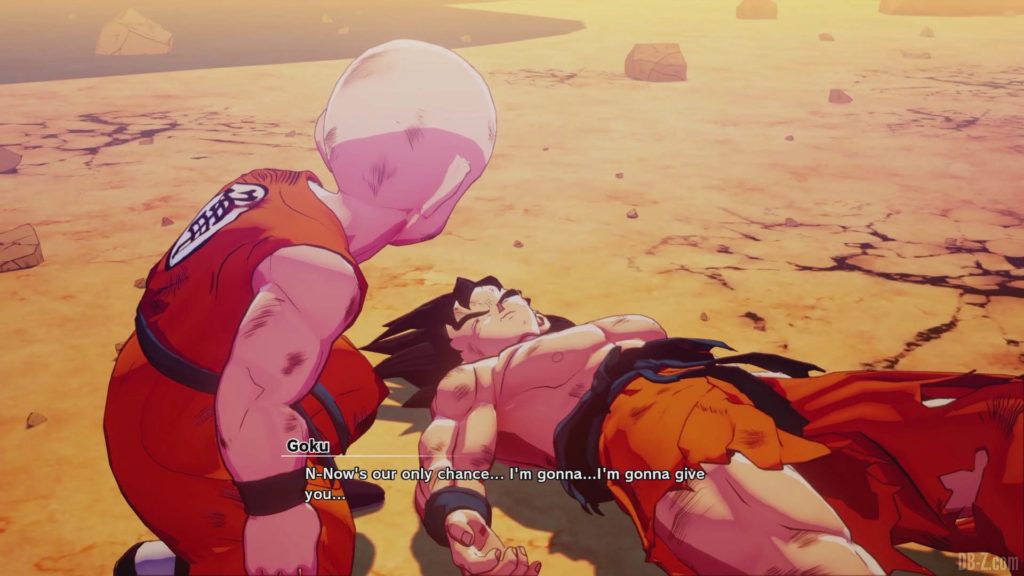 DBZ Kakarot Goku vs vegeta 28