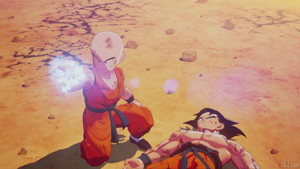 DBZ Kakarot Goku vs vegeta 29