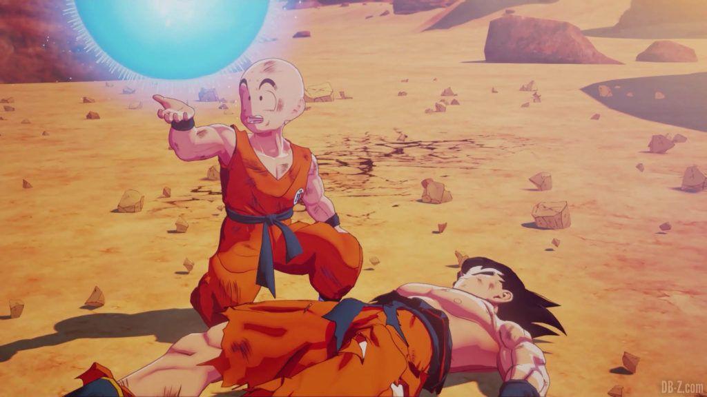 DBZ Kakarot Goku vs vegeta 31