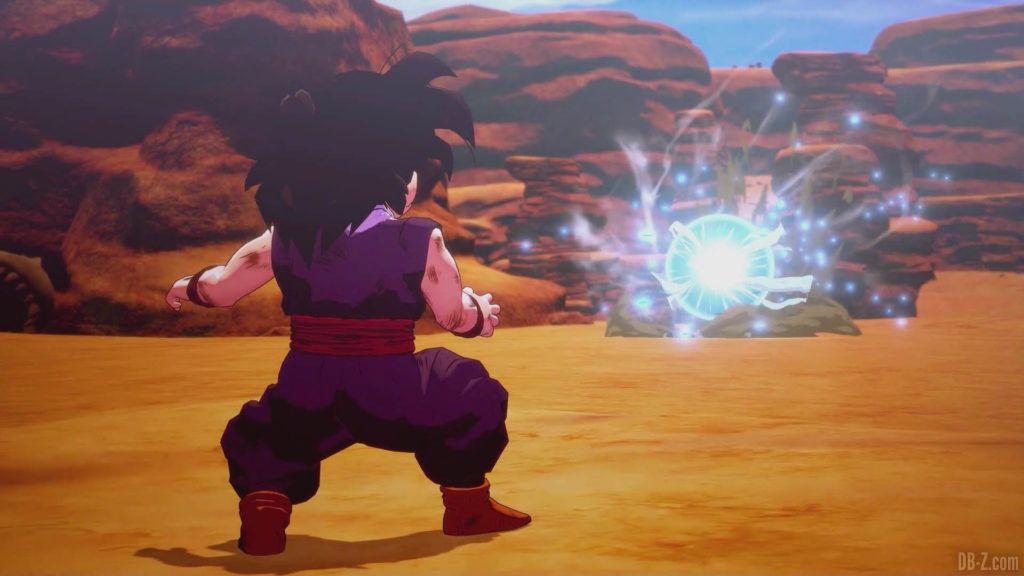 DBZ Kakarot Goku vs vegeta 37