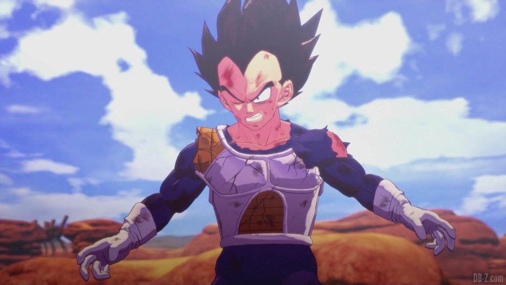 DBZ Kakarot Goku vs vegeta 47
