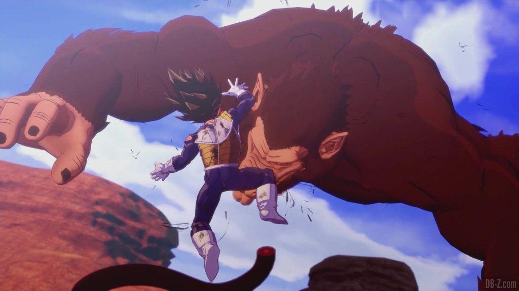 DBZ Kakarot Goku vs vegeta 48