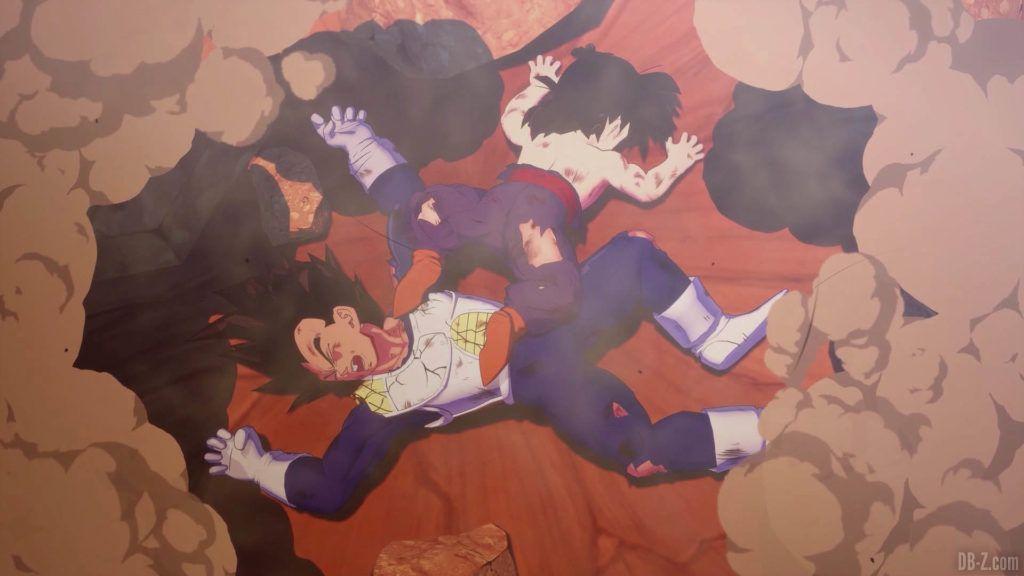 DBZ Kakarot Goku vs vegeta 51