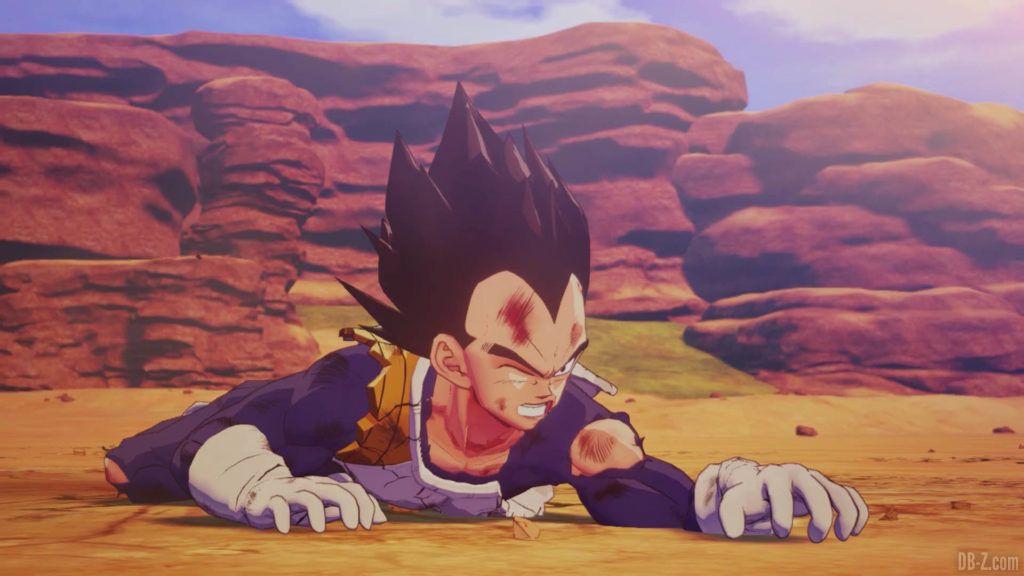 DBZ Kakarot Goku vs vegeta 54