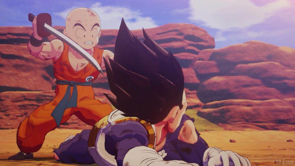 DBZ Kakarot Goku vs vegeta 55