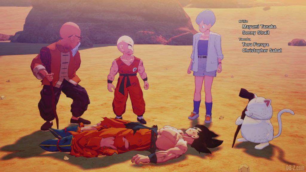 DBZ Kakarot Goku vs vegeta 57