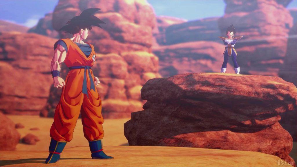 DBZ Kakarot Goku vs vegeta 58
