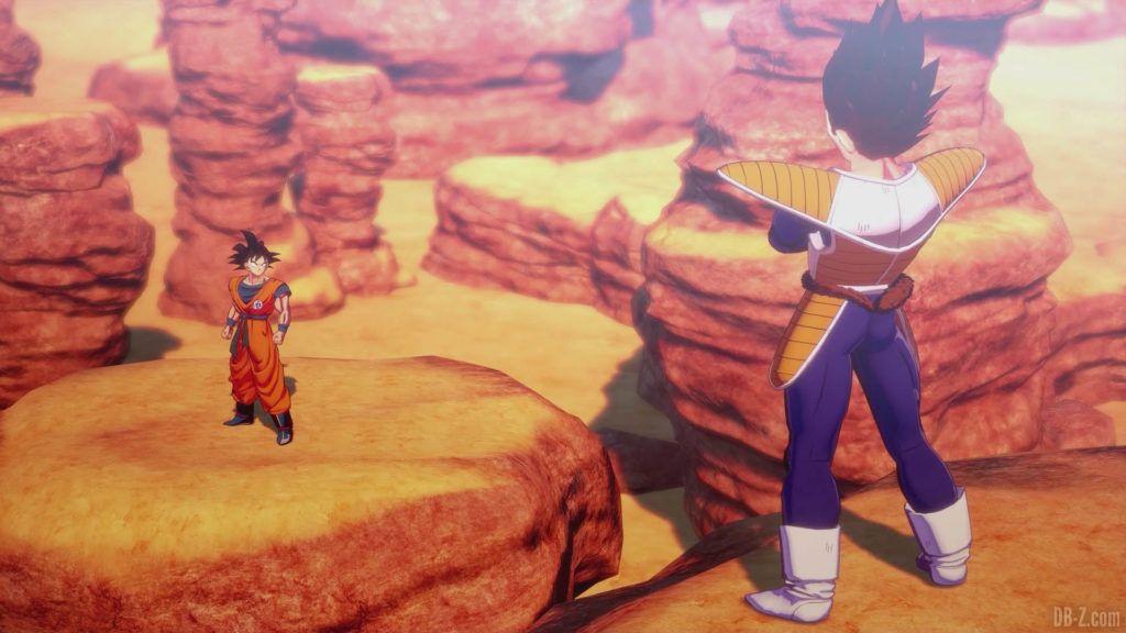 DBZ Kakarot Goku vs vegeta 59