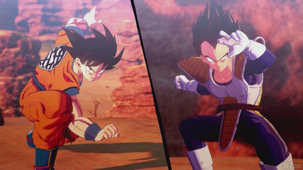 DBZ Kakarot Goku vs vegeta 60