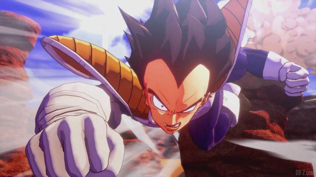 DBZ Kakarot Goku vs vegeta 61