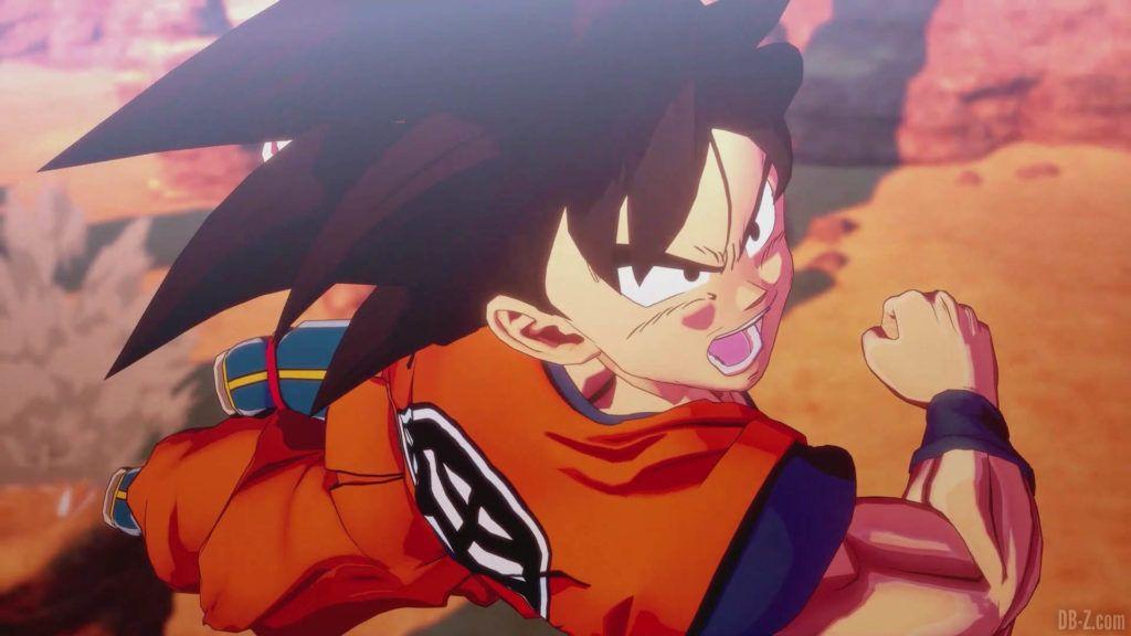 DBZ Kakarot Goku vs vegeta 63