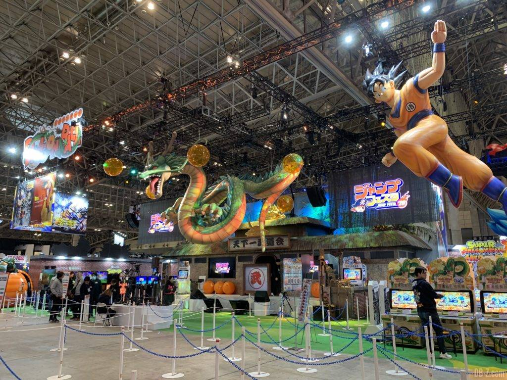 Dragon Ball Booth Jump Festa 2020