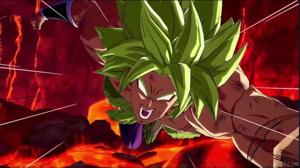 Dragon Ball FighterZ Dramatic Finish Gogeta SSGSS vs Broly DBS 06