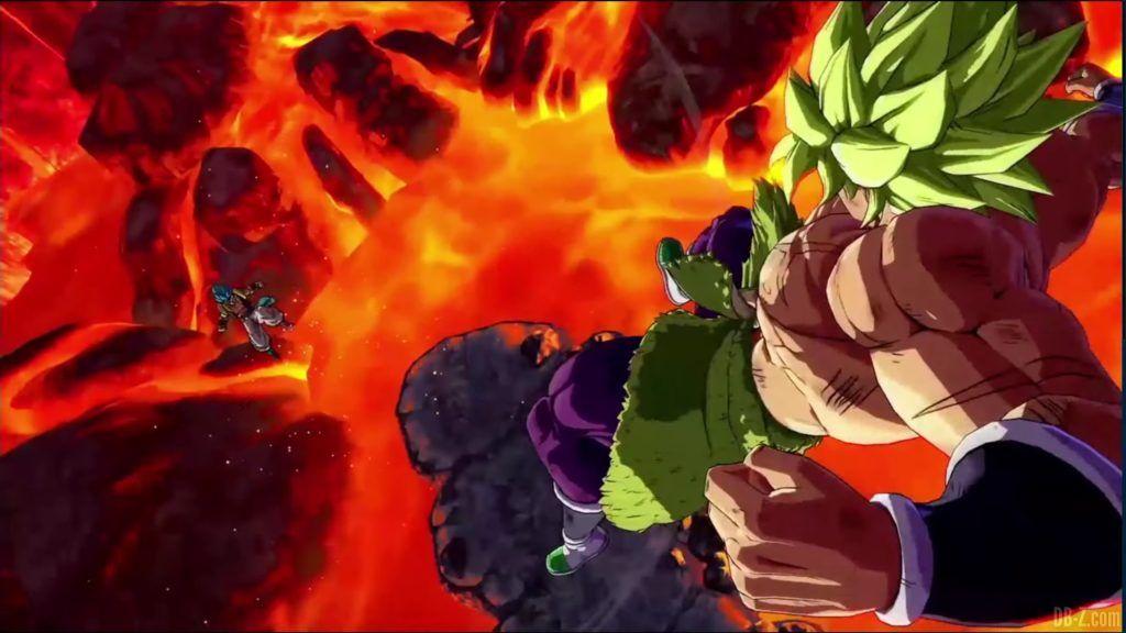 Dragon Ball FighterZ Dramatic Finish Gogeta SSGSS vs Broly DBS 08