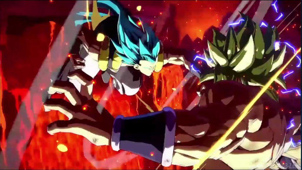 Dragon Ball FighterZ Dramatic Finish Gogeta SSGSS vs Broly DBS 10