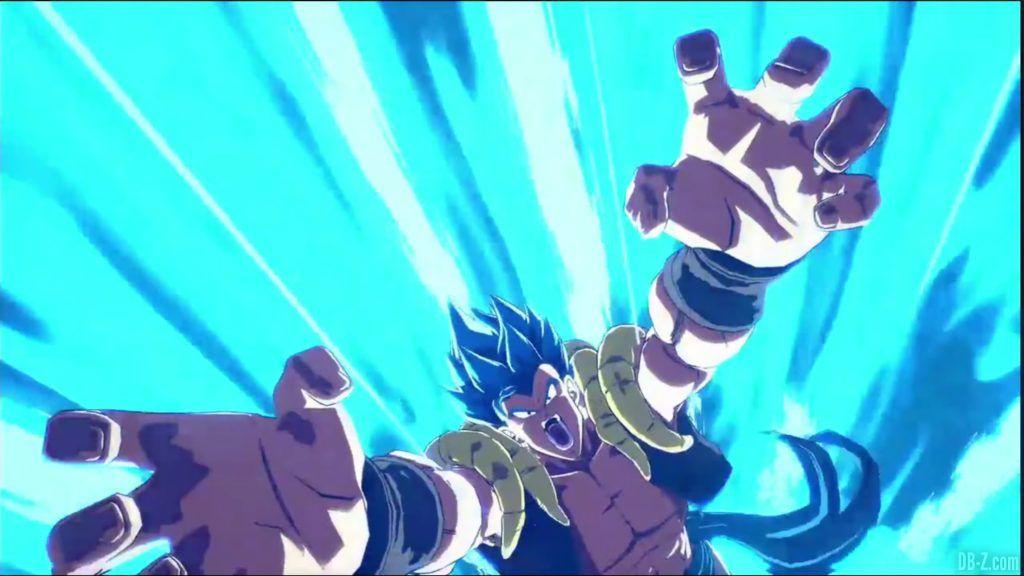 Dragon Ball FighterZ Dramatic Finish Gogeta SSGSS vs Broly DBS 13
