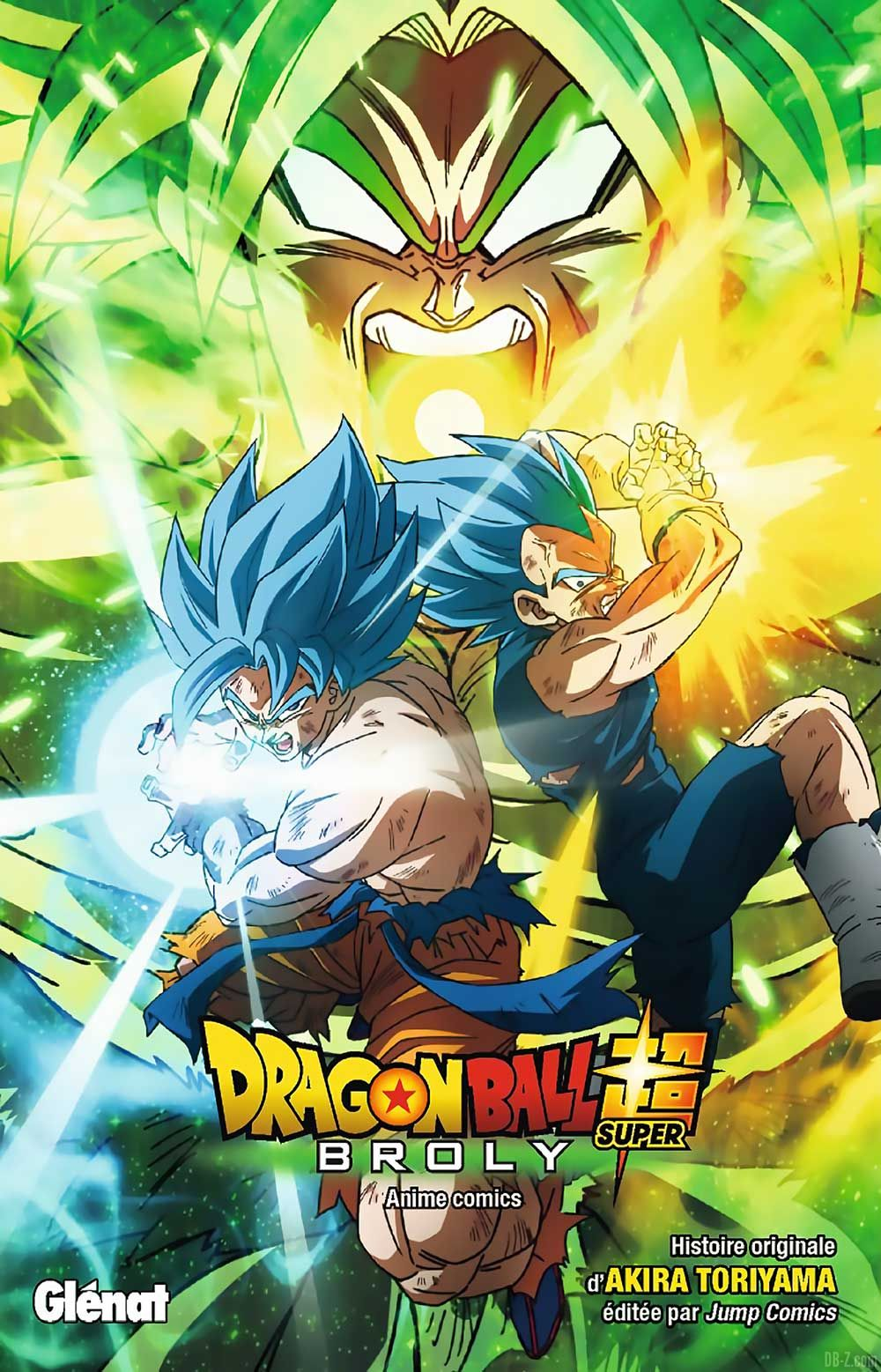 Dragon Ball Super Anime Comics Francais VF