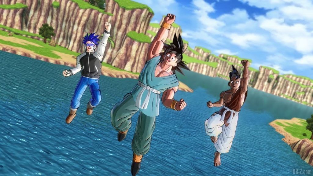 Dragon Ball Xenoverse 2 Super Uub et Goku