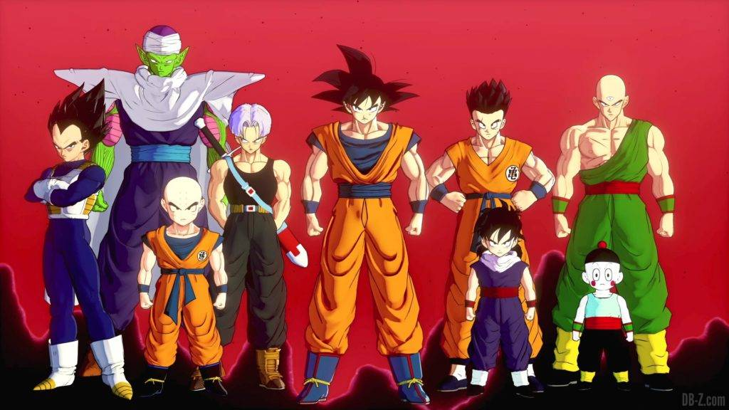 Dragon Ball Z Kakarot Opening Goku et la Z Team