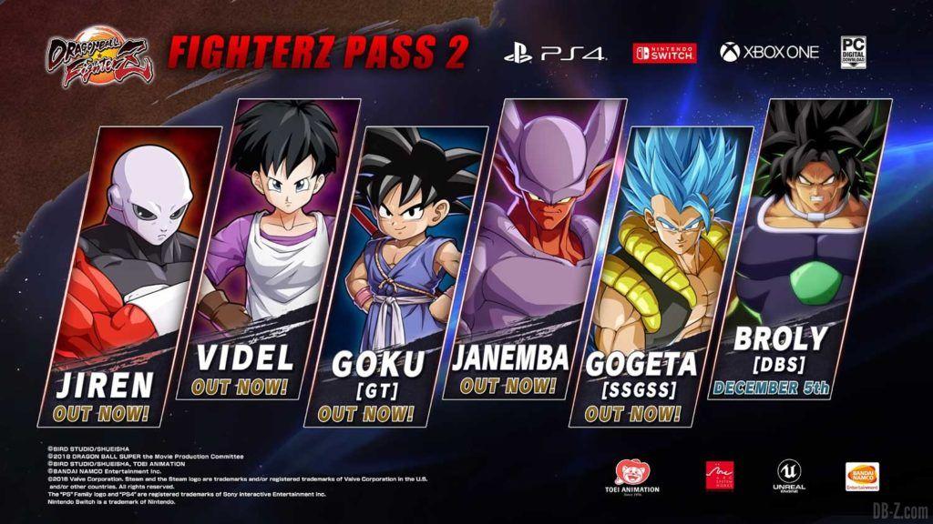 FighterZ Pass 2