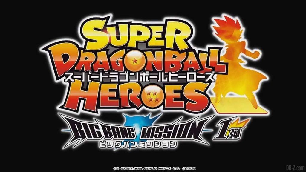 Logo Super Dragon Ball Heroes Big Bang Mission 1