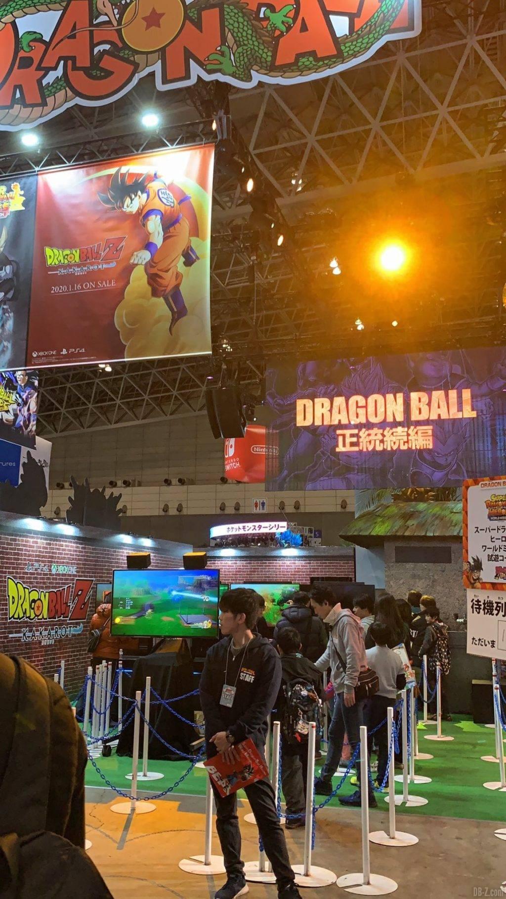 Panel DBZ Kakarot Jump Festa 2020