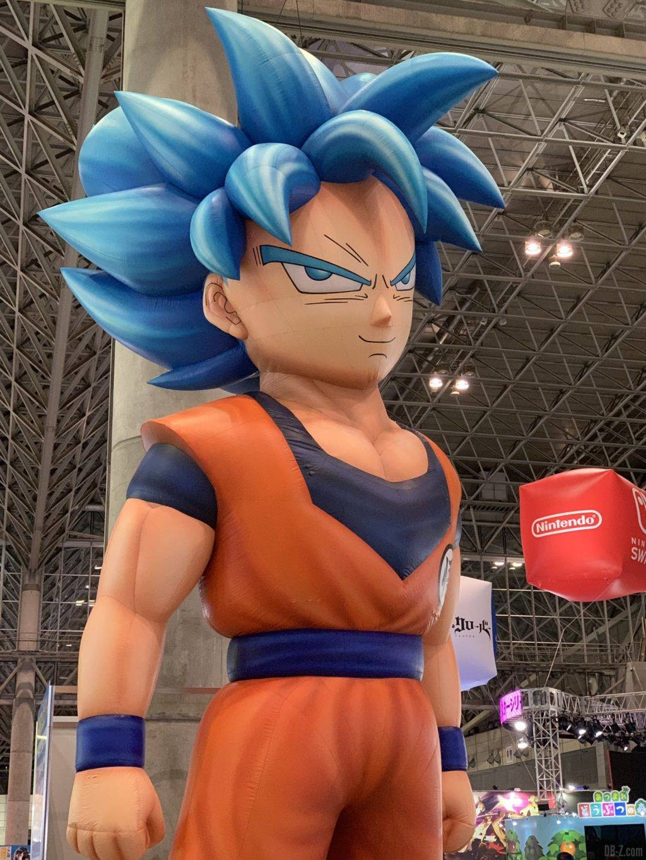 Poupée gonflable Goku SSGSS Jump Festa 2020
