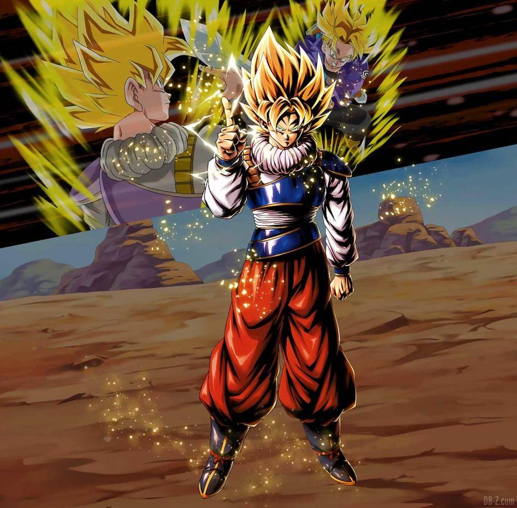 Son Goku Yardrat Dragon Ball Legends