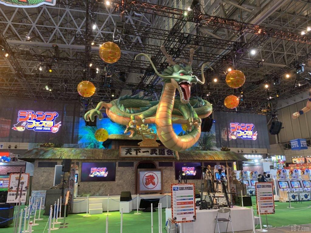 Stand Dragon Ball vide Jump Festa 2020